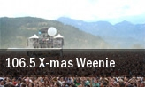 106.5 X-mas Weenie The Fillmore tickets