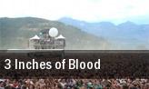 3 Inches of Blood Cincinnati tickets