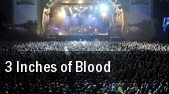3 Inches of Blood Oklahoma City tickets