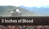 3 Inches of Blood PNC Bank Arts Center tickets