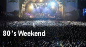 80's Weekend tickets