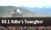 88.1 Kdhx's Twangfest Blueberry Hill Duck Room tickets