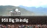 95X Big Shindig tickets