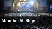 Abandon All Ships Baltimore tickets