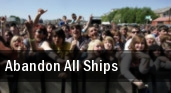 Abandon All Ships Milwaukee tickets