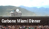 Carbone Miami Dinner tickets