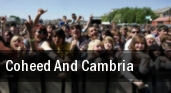 Coheed and Cambria Warfield tickets
