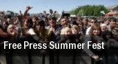Free Press Summer Fest Eleanor Tinsley Park tickets