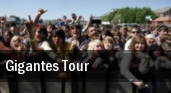 Gigantes Tour San Jose tickets