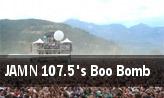 JAMN 107.5's Boo Bomb tickets