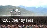 K105 Country Fest tickets