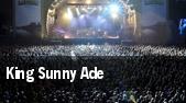 King Sunny Ade Washington tickets