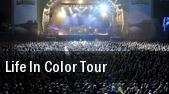 Life In Color Tour Jacobs Pavilion tickets
