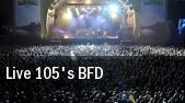 Live 105's BFD Shoreline Amphitheatre tickets