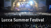 Lucca Summer Festival tickets