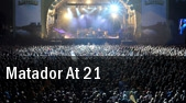 Matador at 21 Pearl Concert Theater At Palms Casino Resort tickets
