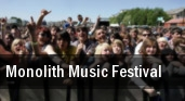 Monolith Music Festival Morrison tickets