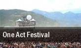 One Act Festival tickets