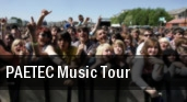 PAETEC Music Tour tickets