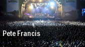 Pete Francis Infinity Hall tickets