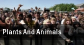 Plants and Animals West End Cultural Center tickets