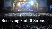 Receiving End Of Sirens Asbury Park tickets