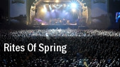 Rites Of Spring tickets