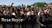 Rose Royce Worcester tickets