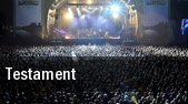 Testament Buffalo tickets