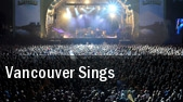 Vancouver Sings tickets