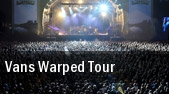 Vans Warped Tour Monmouth Park Racetrack tickets