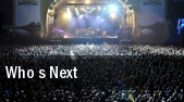 Who s Next Cox's Yard tickets