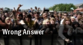 Wrong Answer Philadelphia tickets