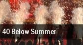 40 Below Summer Starland Ballroom tickets