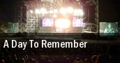 A Day To Remember Clifton Park tickets