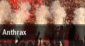 Anthrax Chicago tickets
