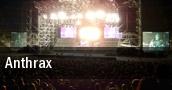 Anthrax Darien Center tickets