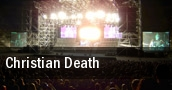 Christian Death tickets