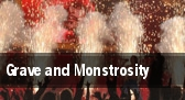 Grave and Monstrosity Cleveland tickets