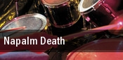 Napalm Death Heaven Stage at Masquerade tickets