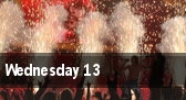 Wednesday 13 Houston tickets