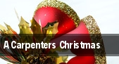 A Carpenters Christmas tickets