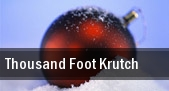 Thousand Foot Krutch Tulsa tickets
