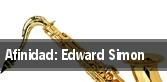 Afinidad: Edward Simon tickets