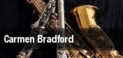Carmen Bradford tickets
