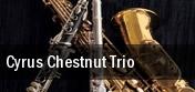 Cyrus Chestnut Trio Jacksonville tickets