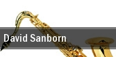 David Sanborn One World Theatre tickets