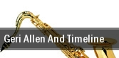 Geri Allen And Timeline Apollo Theater tickets