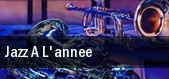 Jazz A L'annee tickets