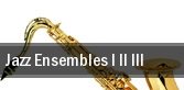 Jazz Ensembles I II III Normal tickets
